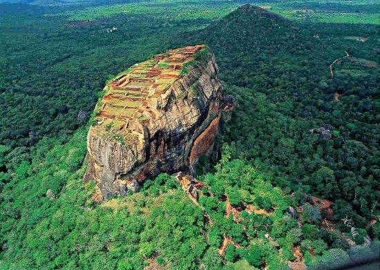 スリランカの風景・シギリア
