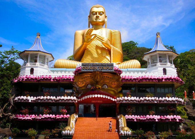 スリランカの風景・ゴールデンテンプル
