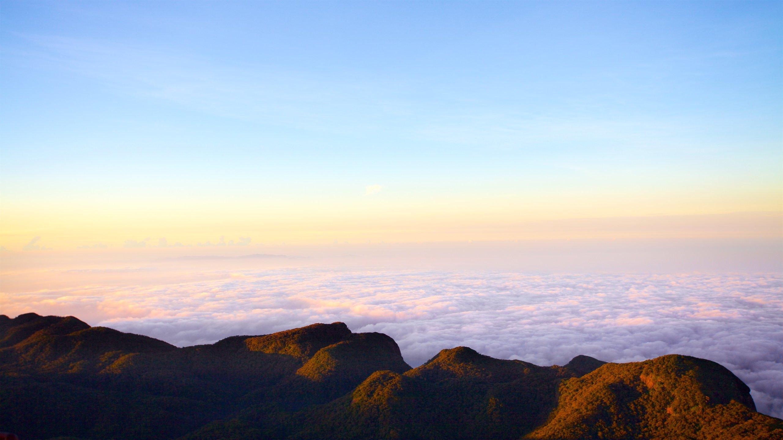 スリランカの風景・アダムスピーク